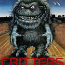 Critters (1988) Vintage A4 Laminated Movie Poster Print Horror Wall Art
