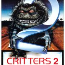 Critters 2 The Main Course (1990) Vintage A4 Laminated Movie Poster Print Horror Wall Art