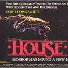 House Movie (1977) Vintage A4 Laminated Movie Poster Print Horror Wall Art
