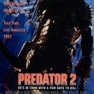 Predators 2 (1990) Vintage A4 Glossy Movie Poster Print Horror Wall Art