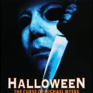 Halloween 6 The Curse Of Michael Myers (1995) Vintage A4 Glossy Movie Poster Print Horror Wall Art