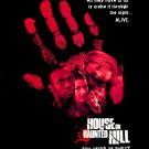 The House on Haunted Hill (1999) Vintage A4 Glossy Movie Poster Print Horror Wall Art
