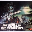 The House by The Cemetery (1981) Vintage A4 Glossy Movie Poster Print Horror Wall Art