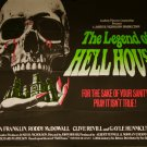 The Legend of Hell House (1971) Vintage A4 Glossy Movie Poster Print Horror Wall Art