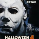 Halloween 4 The Return of Michael Myers (1988) Vintage A4 Glossy Movie Poster Print Horror Wall Art