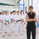 "The Karate Kid cast x 2 William Zabka & Martin Kove 8 x 10"" Autographed Photo (Reprint 2281)"
