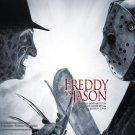 Freddy Vs Jason (2003) Vintage A4 Glossy Movie Poster Print Horror Wall Art