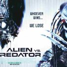 Alien Vs Predator (2004) Vintage A4 Glossy Poster Print Horror Wall Art