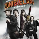 Zombieland (2009) Vintage A4 Glossy Movie Poster Print Horror Wall Art Version 2