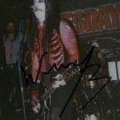 "Wednesday 13 / The Murderdolls 6 x 4"" Autographed Concert Photo (Reprint)"
