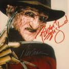 """Robert Englund  & Wes Craven 8 x 10"""" Autographed Photo A Nightmare on Elm St (Reprint:2300)"""