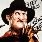 """Robert Englund  & Wes Craven 8 x 10"""" Autographed Photo A Nightmare on Elm St (Reprint:2301)"""