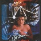 A Nightmare on Elm Street (1984) 12 x 8 Movie Poster signed by Wes Craven (Reprint:2302)