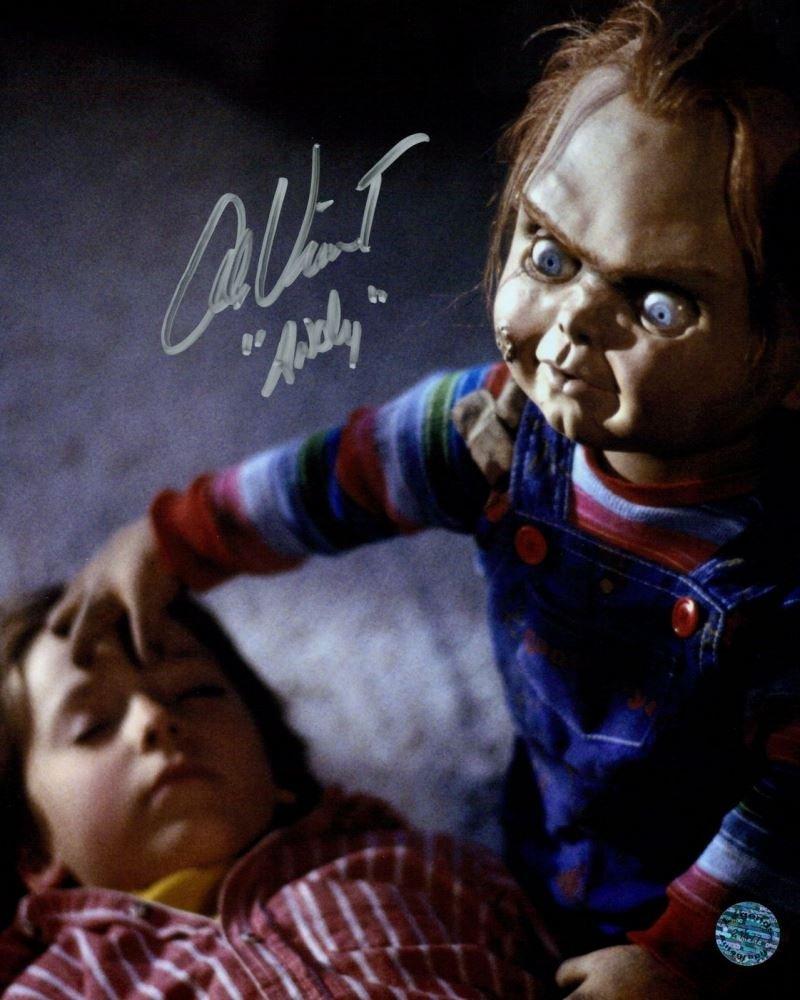 "Alex Vincent  (Child's Play / Chucky) 8 X 10"" Autographed Photo (Reprint 2283) Great Gift Idea!"