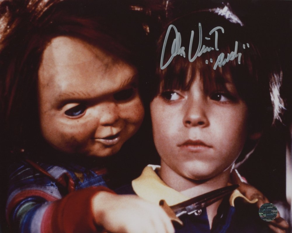 "Alex Vincent  (Child's Play / Chucky) 8 X 10"" Autographed Photo (Reprint 2289) Great Gift Idea!"