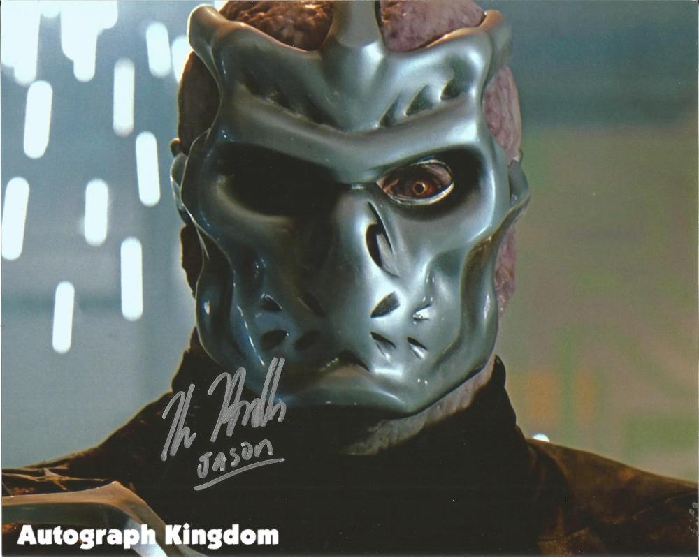 "Kane Hodder (Jason X ) 8 x 10"" Autographed / Signed Photo (Reprint:2295) Great Gift Idea"
