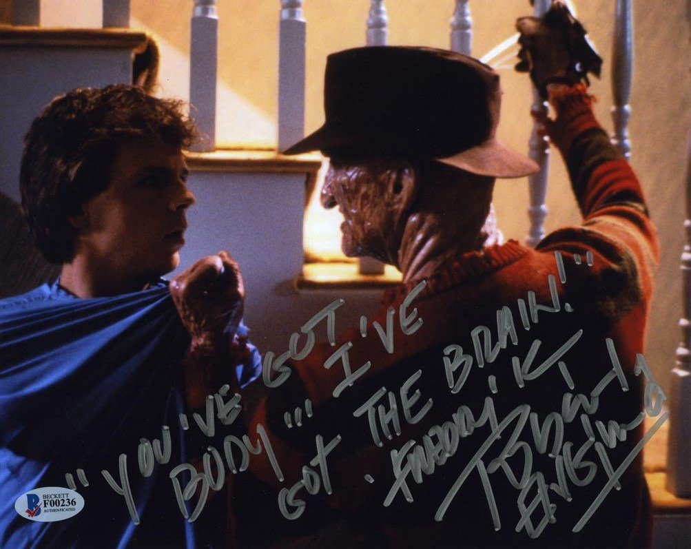 "Robert Englund A Nightmare on Elm Street Pt 2 8 x 10"" Autographed Photo (Reprint:2301)"