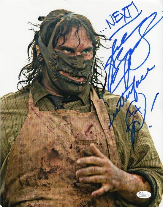 "Andrew Bryniarski Leatherface Texas Chainsaw Massacre (2003) 8 x 10"" Autographed (Reprint:2314)"