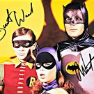 "Adam West & Burt Ward ""Batman"" 8 x 10"" Autographed / Signed Photo (Reprint 2233)"