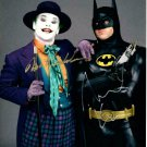 "Michael Keaton & Jack Nicholson ""Batman"" 8 x 10"" Autographed Photo (Reprint 2233)"