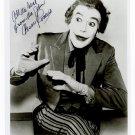 "Cesar Romero ""The Original Joker""  8 x 10"" Autographed Photo Batman 1966 -1968 (Reprint #2)"