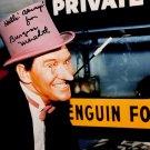 "Burgess Meredith The Penguin 8 x 10"" Autographed Photo Batman 1966 -1968 (Reprint #2)"