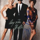 The Grifters Cast x 3 Autographed Photo John Cusack. Annette Bening & Anjelica Huston  (Reprint)
