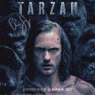 "Alexander Skarsgard 8 x 10"" Autographed Photo The Legend of Tarzan (Reprint:1099)"