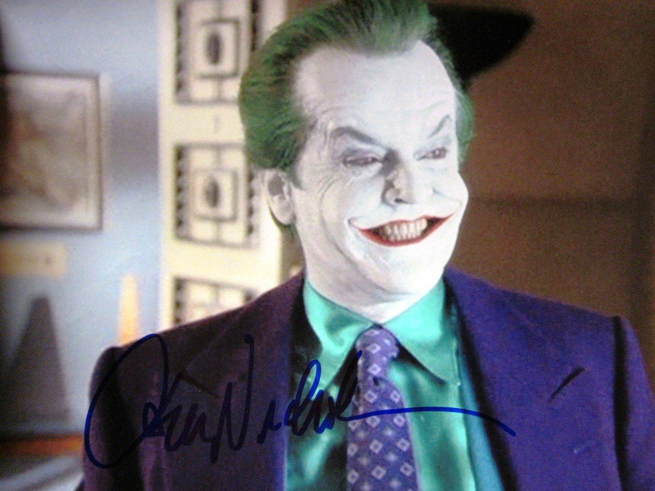 "Jack Nicholson 8 x 10"" Autographed Photo Batman / The Postman Always Rings Twice (Reprint:700)"