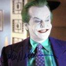"Jack Nicholson 8 x 10"" Autographed Photo Batman / The Postman Always Rings Twice (Reprint:2404)"