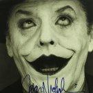 "Jack Nicholson 8 x 10"" Autographed Photo Batman / The Postman Always Rings Twice (Reprint:2405)"