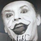 "Jack Nicholson 8 x 10"" Autographed Photo Batman / The Postman Always Rings Twice (Reprint:2406)"