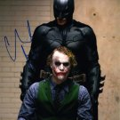 "Christian Bale 8 x 10"" Autographed Photo Batman The Dark Knight / American Psycho (Reprint 2408)"
