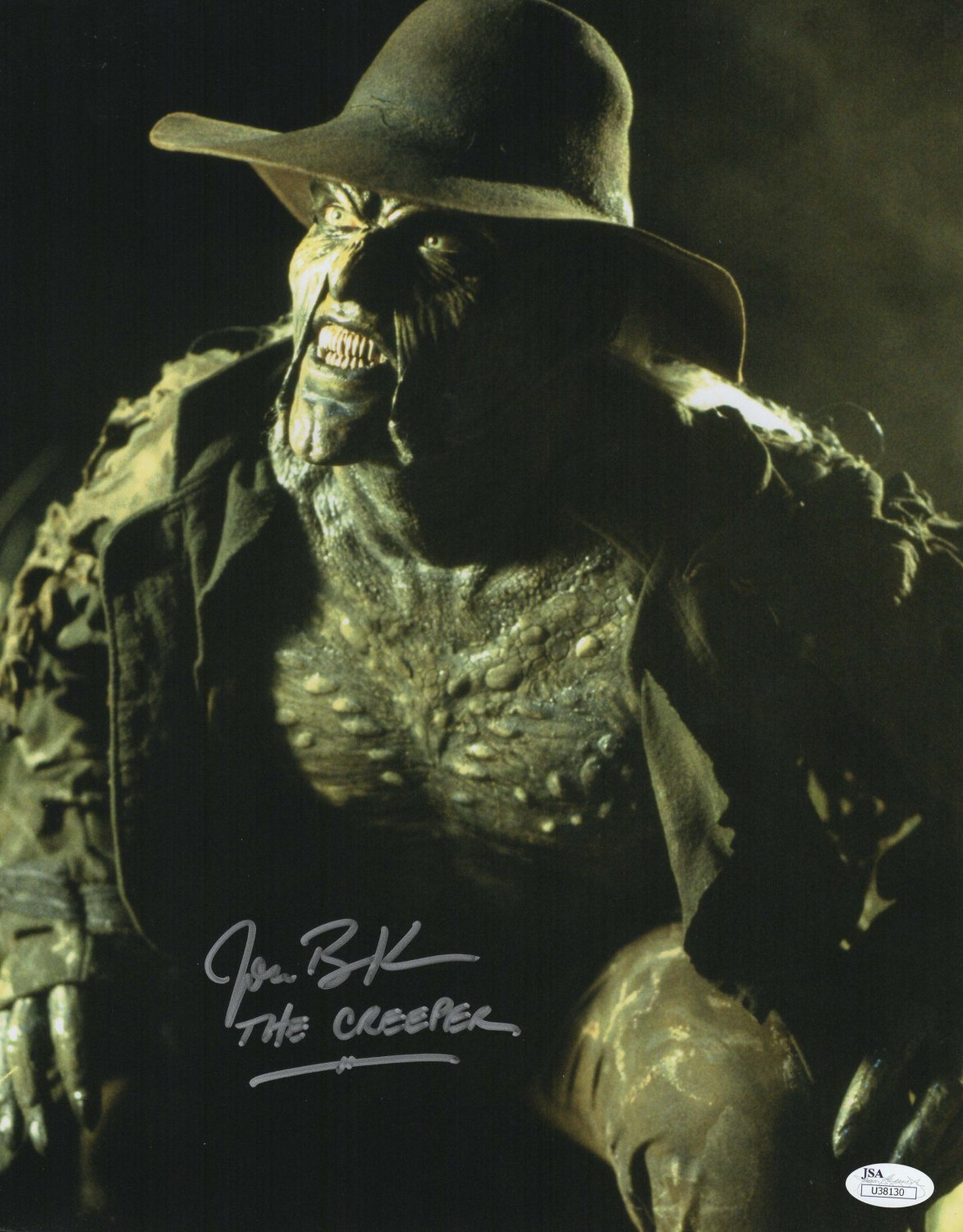 """Jonathan Breck Jeepers Creepers 8 x 10"""" Autographed Photo (Reprint 2299)"""