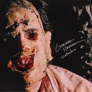 Gunnar Hansen Texas Chainsaw Massacre 1974 Autographed Photo (Reprint:2346)