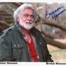 Gunnar Hansen Texas Chainsaw Massacre 1974 Autographed Photo (Reprint:2321)