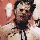Gunnar Hansen Texas Chainsaw Massacre 1974 Autographed Photo (Reprint:2323)