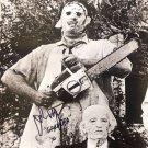 John Dugan Texas Chainsaw Massacre 1974 Autographed Photo (Reprint:2323)