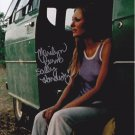"Marilyn Burns Signed 8 x 10"" Texas Chainsaw Massacre 1974 Photo (Reprint:2325)"