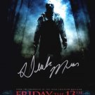 Friday the 13th  2009 Movie Poster Signed by Derek Mears (Reprint 2340)