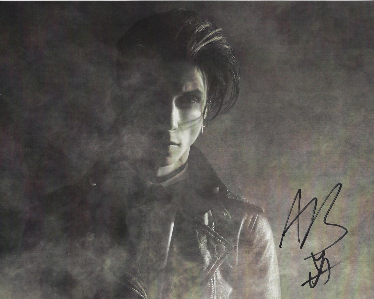 "Andy Biersack Black Veil Brides 8 x 10"" Autographed Photo -(Reprint:2361) Great Gift Idea"