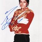 "The King of Pop Michael Jackson double signed 8 X 10"" Black & White Photo Photo (Reprint 1773)"
