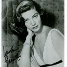 Lauren Bacall Autographed Photo The Big Sleep, How to Marry A Millionaire  (Reprint LB002)