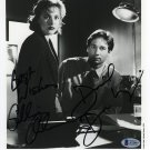 The X Files Cast x 2 David Duchovny & Gillian Anderson Dual Signed Photo (Reprint: 1604)