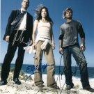 "Matthew Fox, Evangeline Lilly & Josh Holloway Autographed ""Lost"" Glossy 8 x10 Photo (Reprint)"