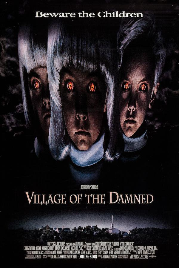 Village of The Damned A4 Movie Poster Print | Horror Movie Posters | Collectibles