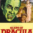 Scars Of Dracula (Staring Christopher Lee) A4 Movie Poster Print | Wall Art | | Collectibles