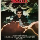Dracula (1979) A4 Movie Poster Print | Wall Art | Horror Movie Poster | Collectibles