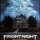 Fright Night (1985) A4 Movie Poster Print   Horror Movie Posters   Wall Art   Collectibles