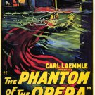 The Phantom of The Opera A4 Movie Poster Print | Wall art | Horror Movie Posters